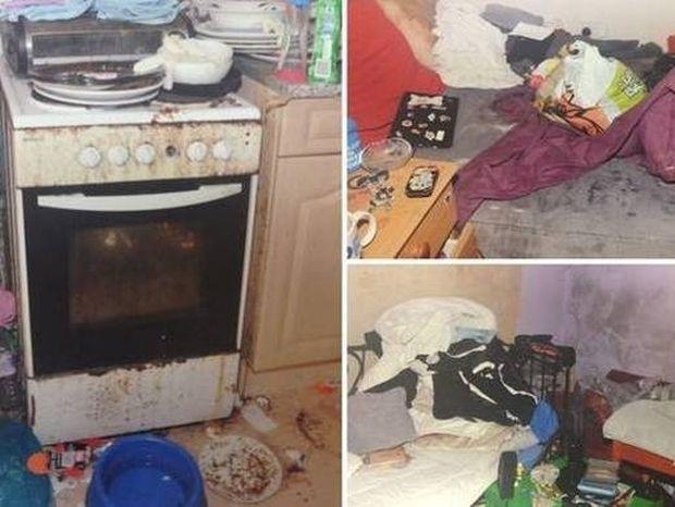 Το σπίτι της φρίκης όπου ζούσε ένας 5χρονος (photos)