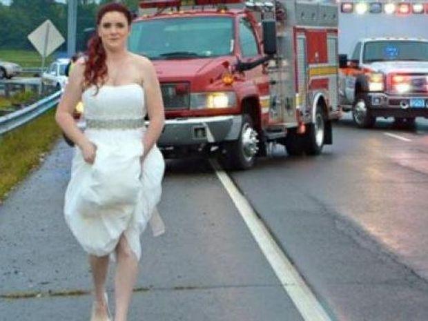 Κι όμως υπάρχει κι αυτό: Άφησε τον γάμο της για να βοηθήσει σε τροχαίο!