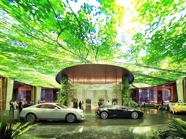 To πρώτο ξενοδοχείο του κόσμου με τροπικό δάσος ανοίγει τις πύλες του στο Nτουμπάι