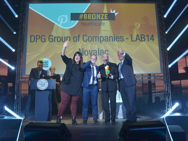 Social Media Awards 2016: Η Lab14 κέρδισε το Bronze βραβείο για τη social media καμπάνια του Novalac