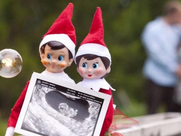 Πώς να ανακοινώσετε την εγκυμοσύνη σας... γιορτινά!
