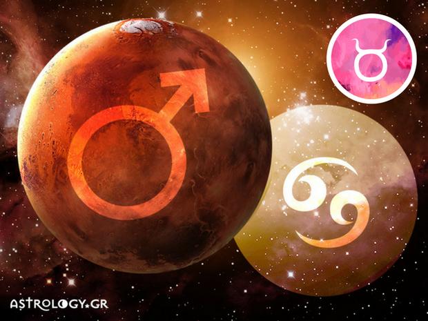 Ο Άρης στον Καρκίνο: Προβλέψεις για τον Ταύρο