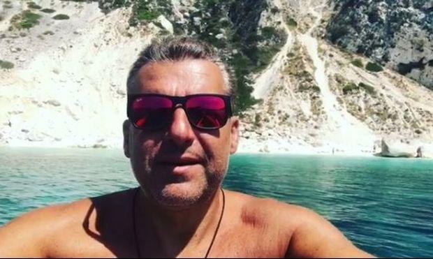 Λιάγκας: Το νέο του βίντεο από το σκάφος - Πού βρίσκεται ο παρουσιαστής;