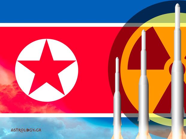 Η πυρηνική απειλή της Β. Κορέας - Τι λένε τα άστρα;