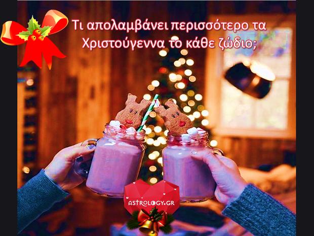 Τι είναι εκείνο που αρέσει στο κάθε ζώδιο περισσότερο τις γιορτές;