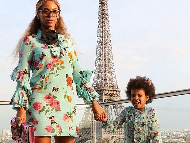 Η Beyonce με την κόρη της Blue Ivy, είναι ό,τι πιο όμορφο & χαριτωμένο μπορείς να δεις στις κερκίδες