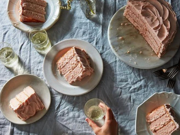 Pink Champagne Cake... Nice to meet you!