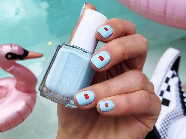 Το nail art που μπορείς να δοκιμάσεις μόνη σου και είναι ιδανικό για την άνοιξη
