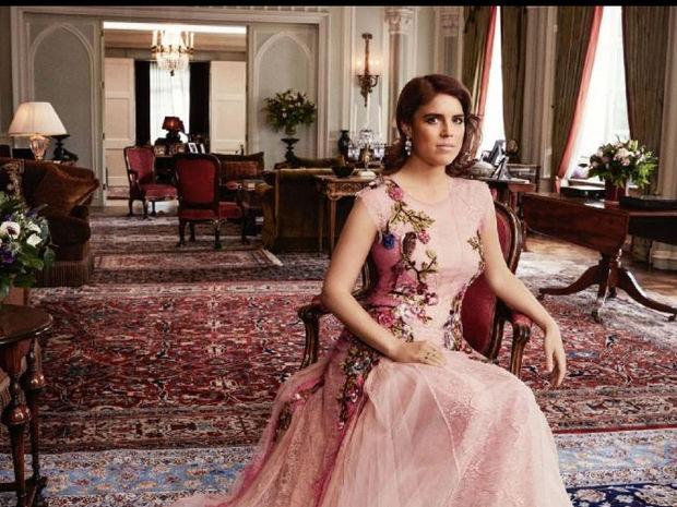 Η πριγκίπισσα Ευγενία σπάει το πρωτόκολλο