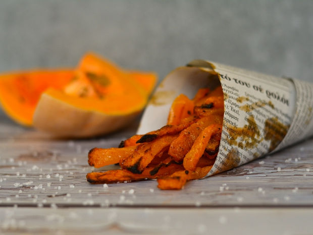 Chips κολοκύθας