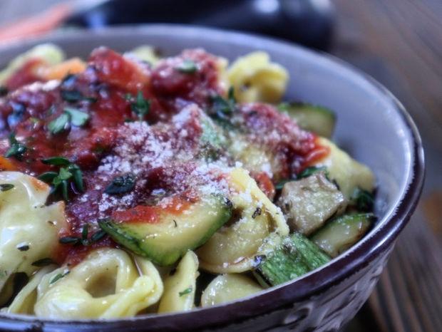 Τορτελίνια με λαχανικά