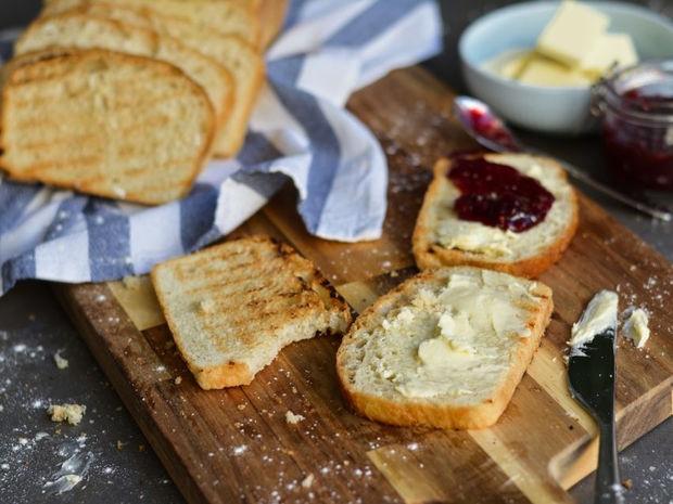 Σπιτικό ψωμί του τόστ