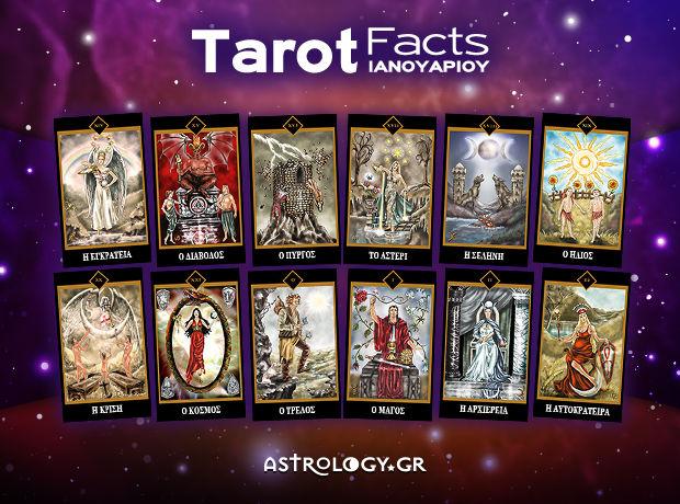 Tarot Facts Ιανουαρίου: Η αποκαλυπτική κάρτα του μήνα για το ζώδιό σου