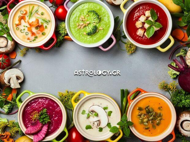 Τι φαγητό θα ήσουν ανάλογα με το ζώδιο σου;