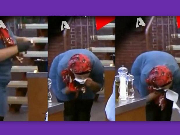 Masterchef: Με το ίδιο χαρτί σκούπισε τη μύτη, τον ιδρώτα, το κουτάλι και μετά… μαγείρεψε