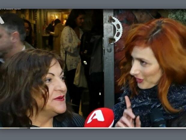 Η Σταυροπούλου στόλισε την Μαρία Κωνσταντάκη on camera: «Είσαι ηλίθια! Κοίτα τι κάνει το ζώον»