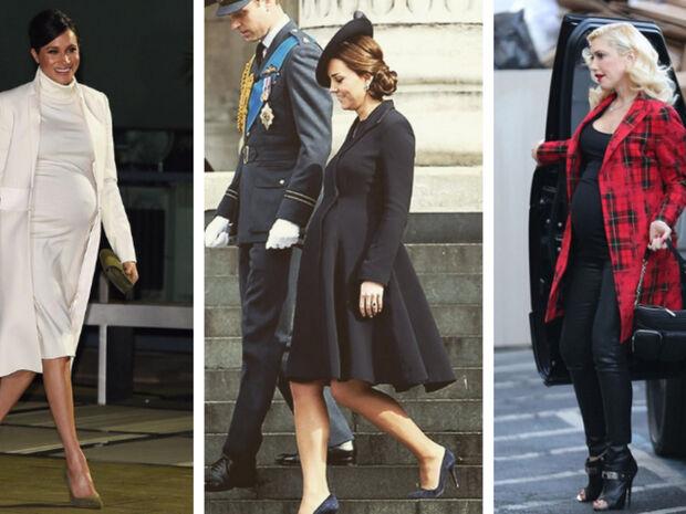 Διάσημες που φόρεσαν τακούνια μέχρι τον 9ο μήνα της εγκυμοσύνης τους (pics)