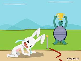 AstroQuiz: Η κυρία Δώρα, ο λαγός και η χελώνα!