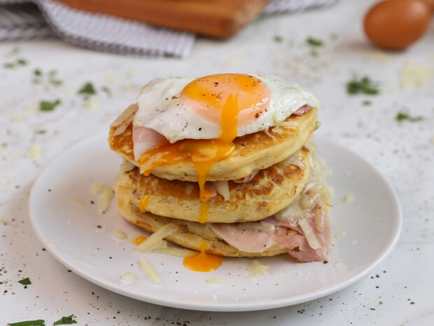 Αλμυρά pancakes