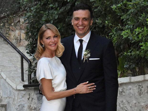 Γάμος Μπαλατσινού - Κικίλια: Φωτό μέσα από τον Ιερό Ναό και από το μυστήριο (photos)