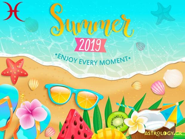 Καλοκαίρι 2019: Ιχθύ, πόσο τυχερός θα είσαι στα ερωτικά και τα οικονομικά σου;