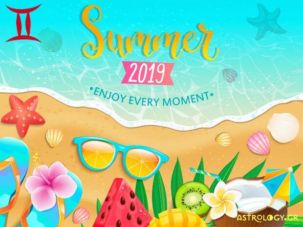 Καλοκαίρι 2019: Δίδυμε, πόσο τυχερός θα είσαι στα ερωτικά και τα οικονομικά σου;