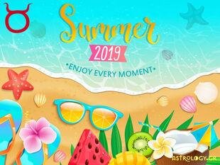 Καλοκαίρι 2019: Ταύρε, πόσο τυχερός θα είσαι στα ερωτικά και τα οικονομικά σου;