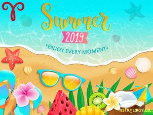 Καλοκαίρι 2019: Κριέ, πόσο τυχερός θα είσαι στα ερωτικά και τα οικονομικά σου;