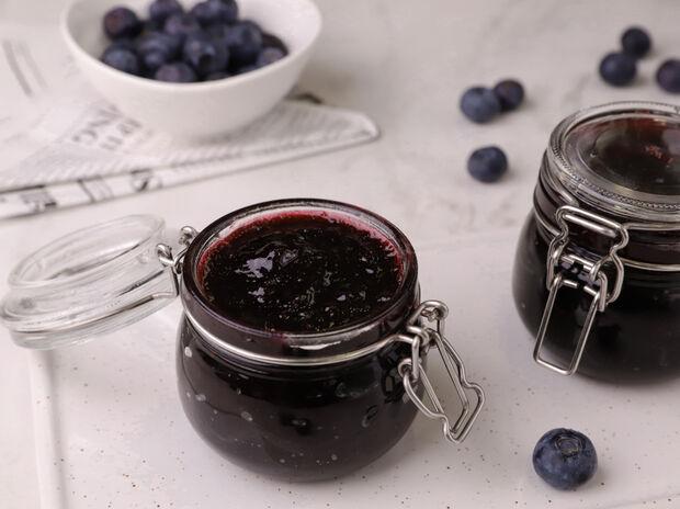 Μαρμελάδα με μύρτιλα (blueberries)